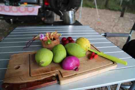green mango sambal ingredients