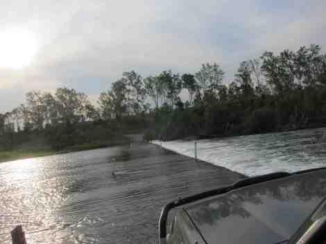 Burnett River crossing