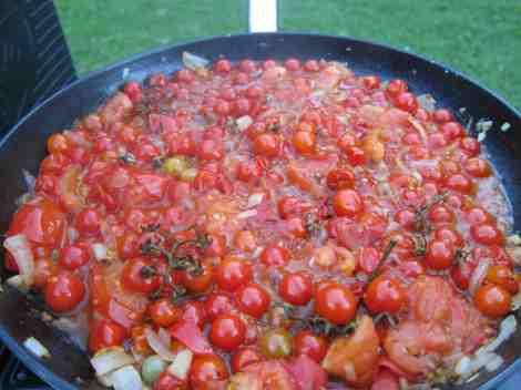 wild cherry tomato pasta sauce