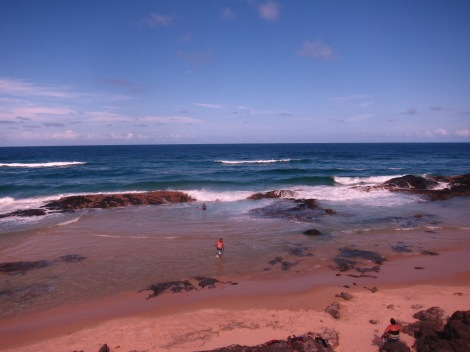 view of champagne rock pools