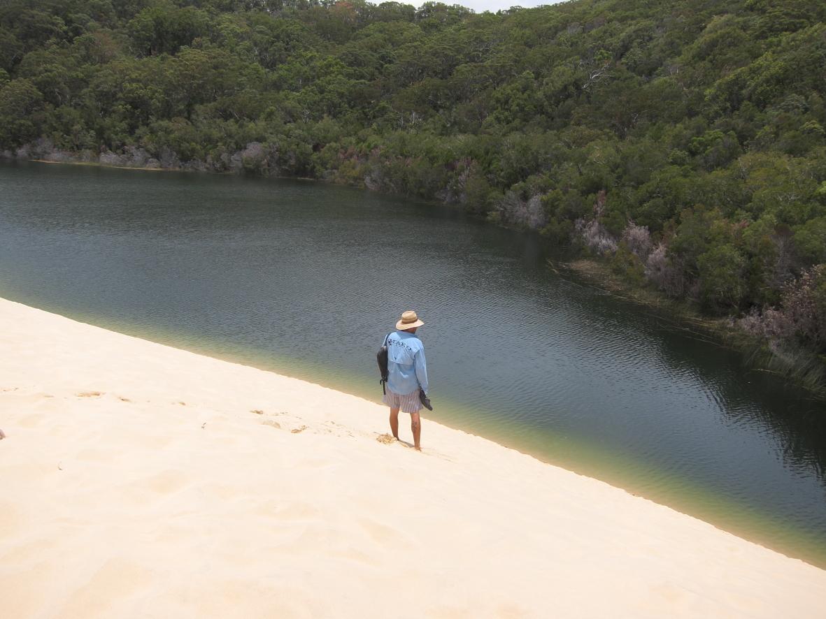 Wobby Beach Fraser Island