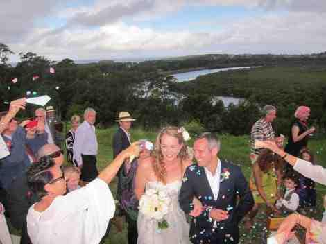 Margie and Ben's wedding celebration