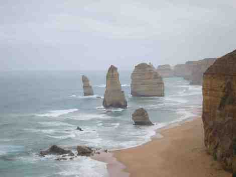 stormy 12 Apostles (well I didn't count 12?)