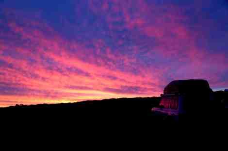 Sunset at Hanson Bay